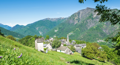 Wanderung von Rasa, oberhalb Verdasio im Centovalli, via Monti, Termine, Pizzo Leone, Alpe di Naccio, Casone, Carona di Pinz, Porera, Non, nach Ronco sopra Ascona
