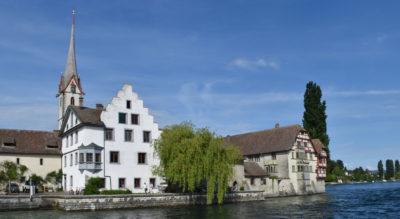 Wanderung von Stein am Rhein nach Schaffhausen auf der ViaRhenana via Propsteikirche Wagenhausen, Diessenhofen, St. Katharinental, Naturreservat Schaarenwald, Kloster Alt Paradies