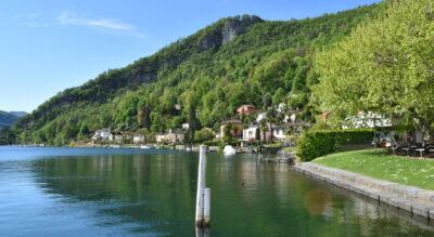 Wanderung auf und um den Monte Caslano, 552 m.ü.M., am Luganersee / Lago di Lugano im Parco naturale del Monte Caslano. Highlights sind der Lehrpfad zur Flora und Fauna des Monte di Caslano und die Aussicht auf die Bucht von Caslano und von Agno, auf Ponte Tresa in Italien sowie auf die dahinter auftürmenden Berge.