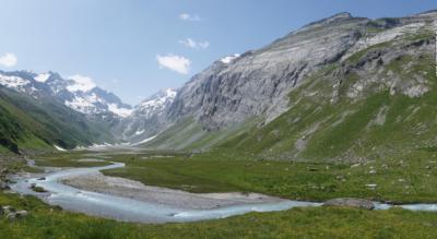 Wanderung ins Val Frisal von Burleun nach Breil / Brigels im Surselva
