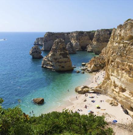 Wandern auf Wanderferien und Wanderreisen in der Algarve, Portugal