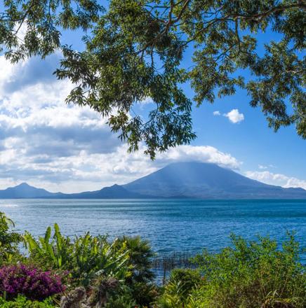 Wandern in Guatemala, Südamerika, auf einer Wanderreise / Wanderferien