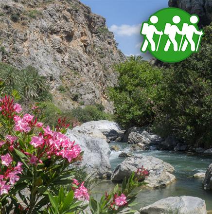 Wandern auf Kreta, Griechenland, auf einer Wanderreise / Wanderferien