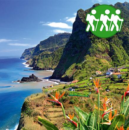 Wandern auf Madeira, Portugal auf einer Wanderreise / Wanderferien