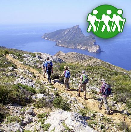 Wandern auf Mallorca, Spanien, auf einer Wanderreise / Wanderferien