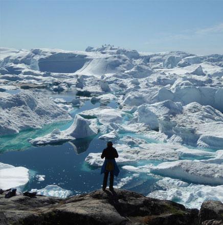 Wandern auf den Grönland, auf einer geführten Wanderreise / Wanderferien die Westküste Grönlands erkunden
