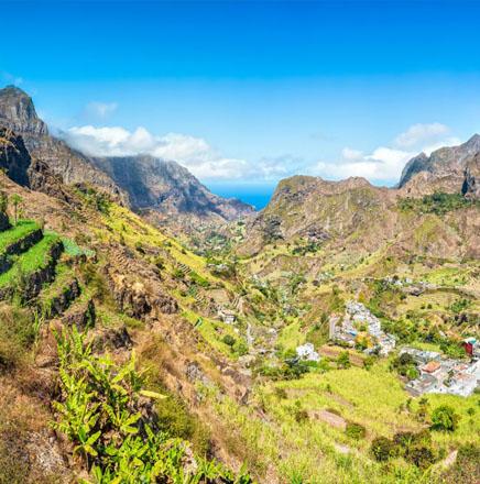 Wandern auf den Kapverden, auf einer geführten Wanderreise / Wanderferien die Insel erkunden