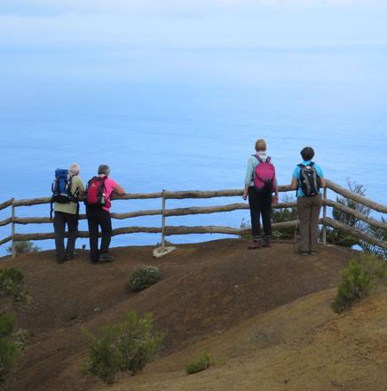 Wandern auf La Gomera in Spanien auf Wanderreisen / Wanderferien