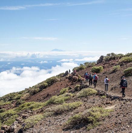 Wandern auf La Palma, auf einer geführten Wanderreise / Wanderferien die Insel erkunden