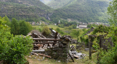 Wanderung im Maggiatal / Vallemaggia von Maggia via Lodano, Giumaglio nach Someo