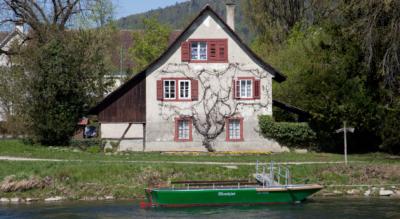 Wanderung oder eher ein gemütlicher Spazierung von der Stadt Zürich, Hardturm, zur Werdinsel und zum Kloster Fahr und dem Benektinerinnenkloster bei Unterengstringen
