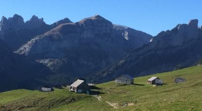 Wanderung von der Bergstation Godelbahn Alp Sigel (Brülisau Pfannenstiel) via Alp Sigel, Chüeboden, Steckwees, Appenzeller Sämtis, Töbelihütten, Sämtisersee, Plattenbödeli nach Brülisau