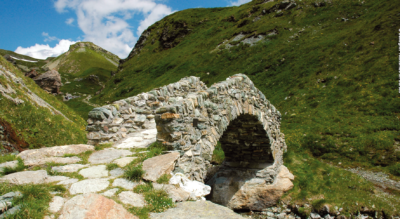 Wanderung von Bivio via Septimerpass, Casaccia, Pranzaira nach Vicosoprano ins Val Bregaglia / Bergell auf der 4. Etappe Via Sett