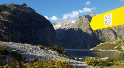 Wanderung von Handegg, im Haslital, mit steilsten Standseilbahn Europas, der Gelmerbahn, zum Gelmersee und zur Gelmerhütte SAC und mit Abstieg via Undrist Diechter nach Chüenzentennlen / Kunzentännlein