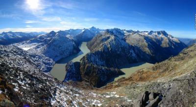 Wanderung vom Grimselpass via Husegghütte auf das Sidelhorn und weiter via Triebtenseeli, Husegghütte zurück zur Grimselpasshöhe