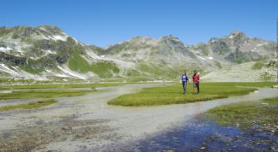 Jöriseen Rundwanderung von Wägerhus im Flüelatal / Flüela, nähe Davos und Flüelapass, via Winterlücke zu den Jöriseen und zurück via Jöriflüelafurgga
