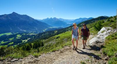 Wanderung vom Piz Scalottas, oberhalb Lenzerheide / Tgantieni via Piz Danis zur Alp Stätz / Heidbüel, oberhalb Churwalden