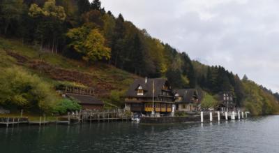 Wanderung von Seelisberg (Treib), oberhalb Vierwaldstättersee und Urnersee, via Risletenschlucht, Risleten nach Beckenried