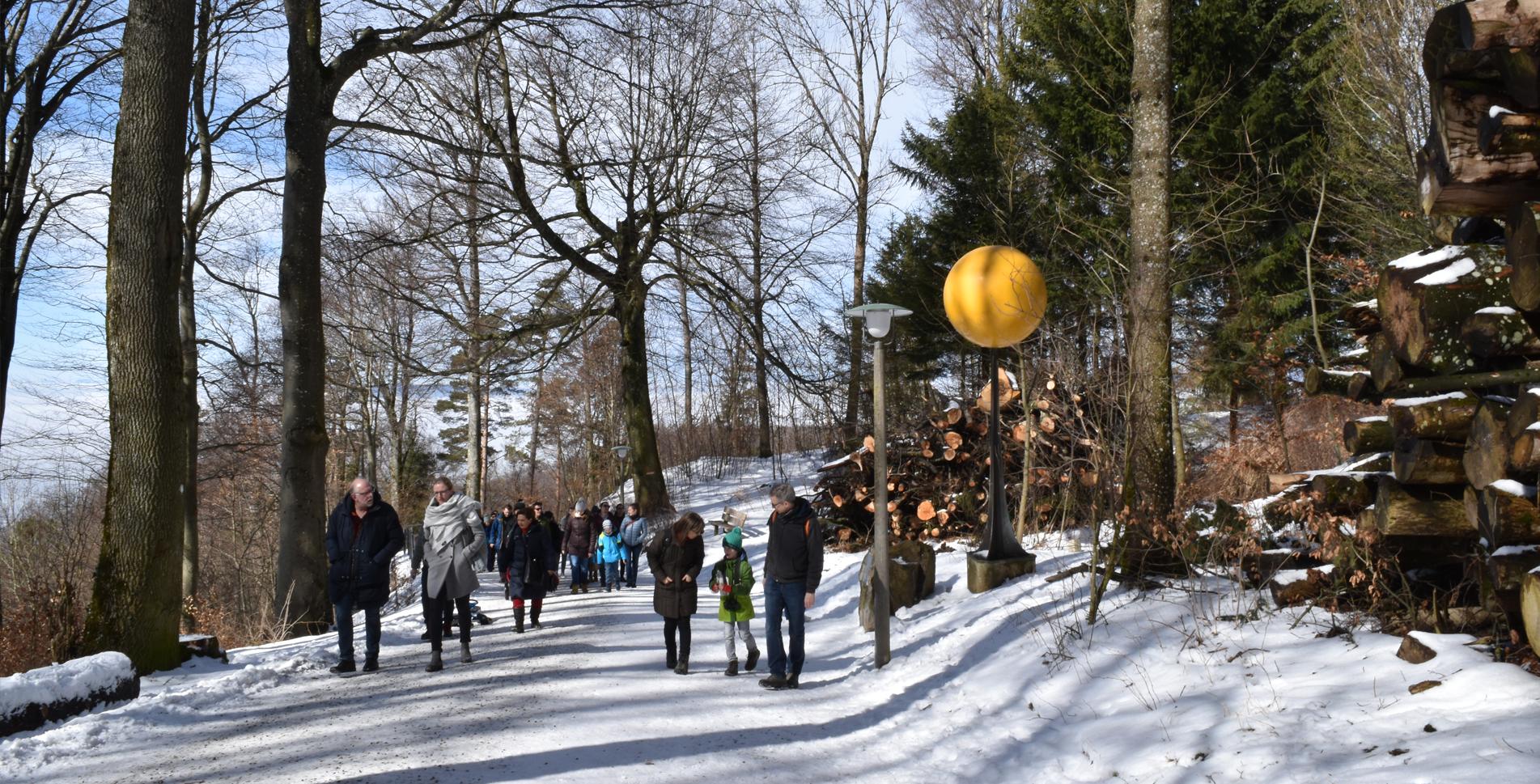Wanderung auf dem Planetenweg vom Uetliberg via Uto Staffel, Mädikon, Balderen zur Felsenegg