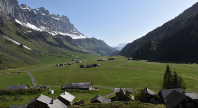 Wanderung vom Urnerboden / Urner Boden (Klausenpass) via Nussbüel nach Braunwald (Via Alpina 1) vom Kanton Uri in den Kanton Glarus