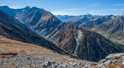 Wanderung von Zernez ins wildromantische Val Tantermozza, zur Chamanna Tantermozza im Schweizerischen Nationalpark.