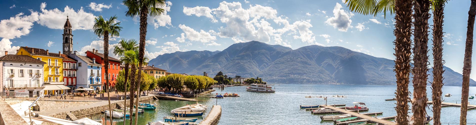 Wanderungen im Tessin in der Region Ascona und Locarno