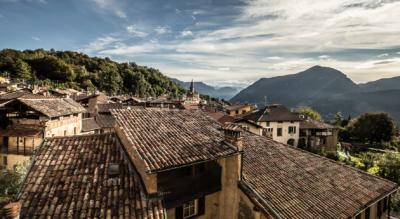 Wanderung von Lugano-Paradiso / Lugano / Paradiso via Morchino, Pazzallo auf den San Salvatore und weiter nach Ciona mit Endpunkt in Carona