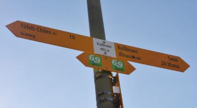 Wanderung auf dem Züri Oberland Höhenweg / Zürcher Oberland Höhenweg im Tösstal von Kollbrunn nach Girenbad via dem Gratweg zur Tüfels Chilen im Bäntal, Wolfbrunnen, Wissenberg, Hand, zum Gasthof Gyrenbad