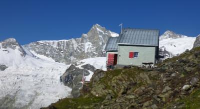 Anspruchsvolle Bergwanderung von Randa zur Weisshornhütte