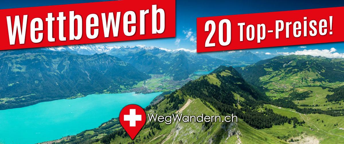 Sommer-Wettbewerb 2021 – WegWandern.ch – tolle Preise gewinnen!