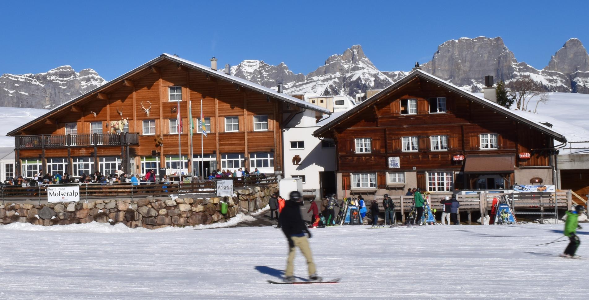 Wanderhotels, Hotels in den Bergen