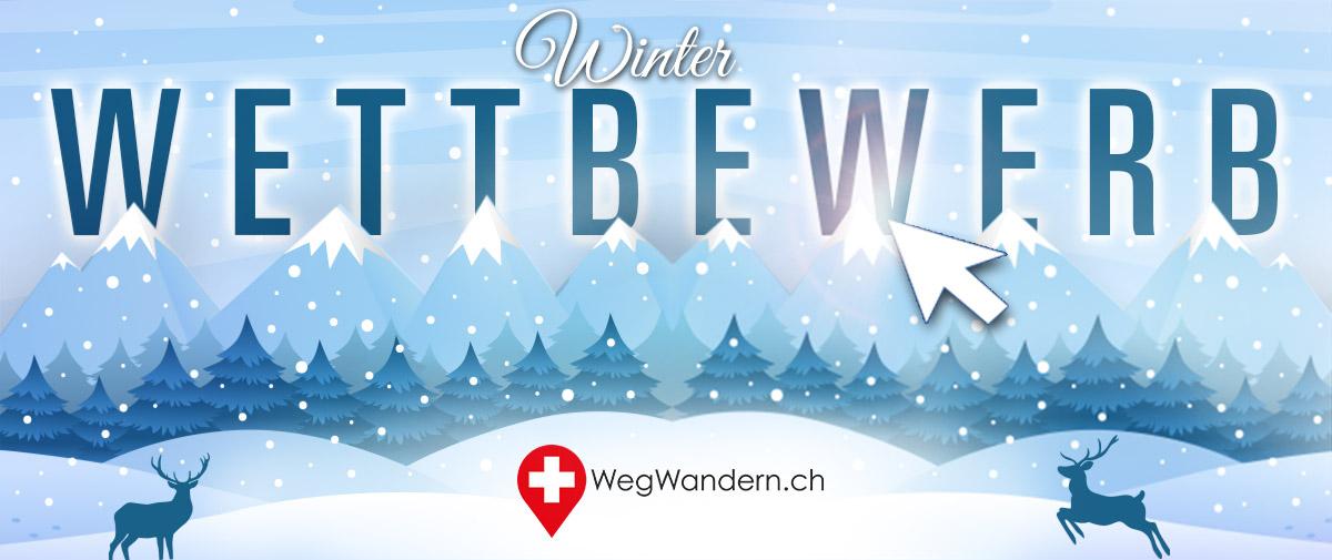 WegWandern.ch – Winter-Wettbewerb 2019/2020