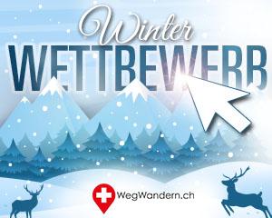 WegWandern.ch – Winter-Wettbewerb 2020/2021