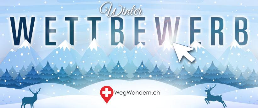 WegWandern.ch – Winter-Wettbewerb 2018/2019