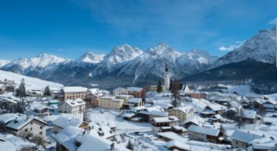 Winterwanderung von Motta Naluns (Scoul / Schuls) nach Sent