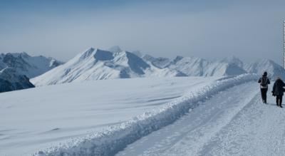Winterwanderung von Motta Naluns (Scuol / Schuls) nach Sent