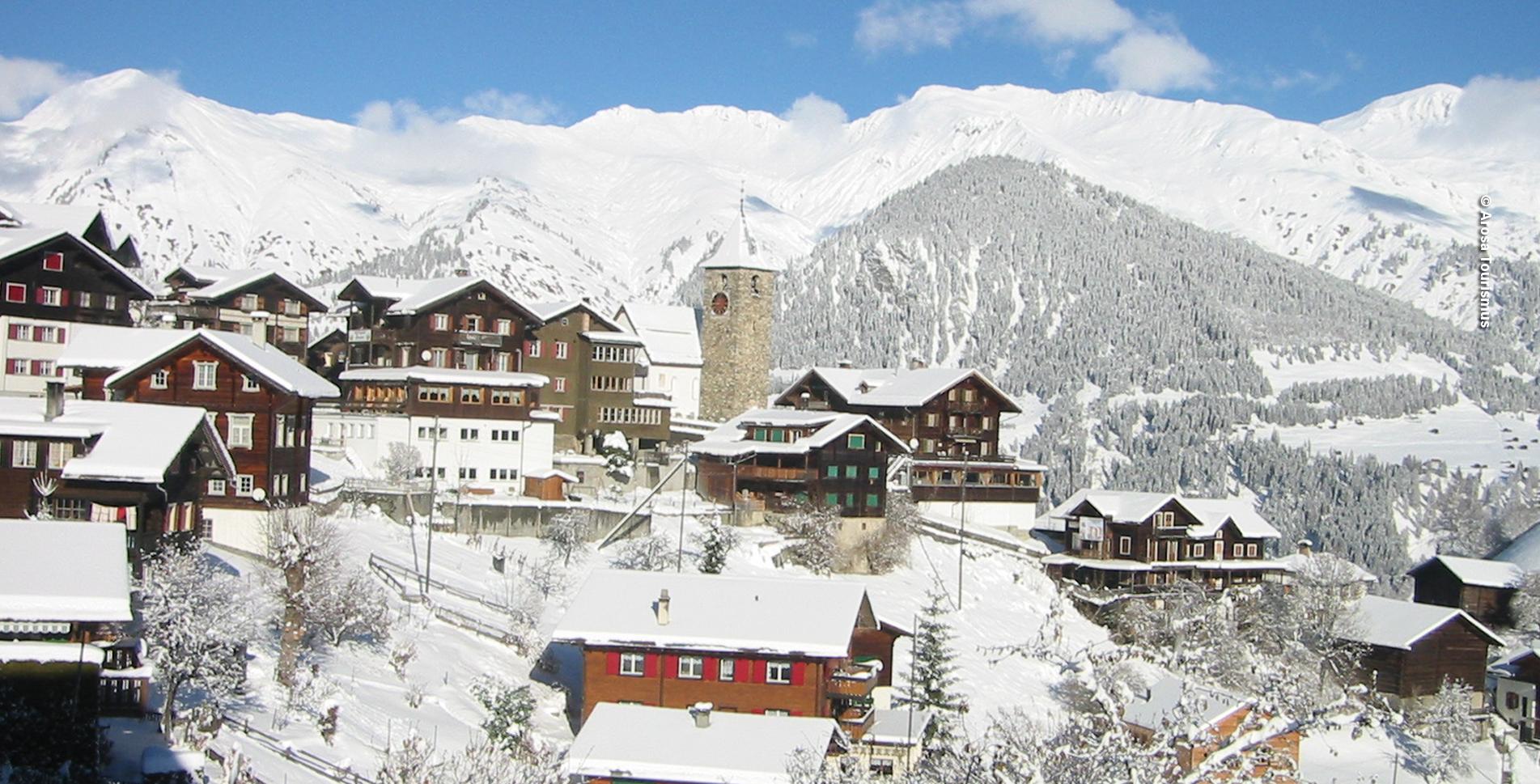Winterwanderung Tschiertschen Rundweg (Schanfigg)