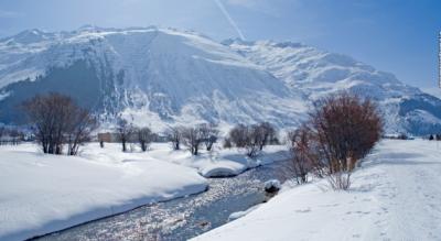 Winterwanderung im Urserental von Andermatt via Hospental, Zumdorf nach Realp