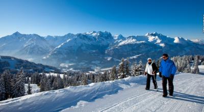 Winterwanderung auf dem Hasliberg von Käserstatt (Hasliberg Wasserwendi) zur Mägisalp (Hasliberg Reuti / Meiringen)