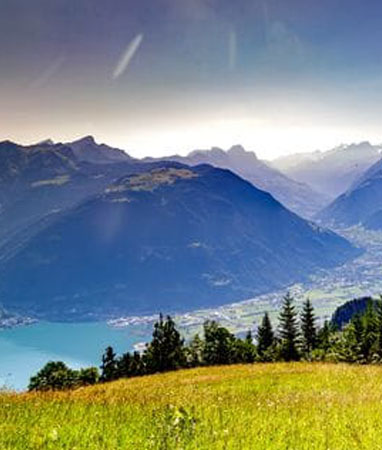 Zentralschweiz - Wanderferien und Wandern ohne Gepäck