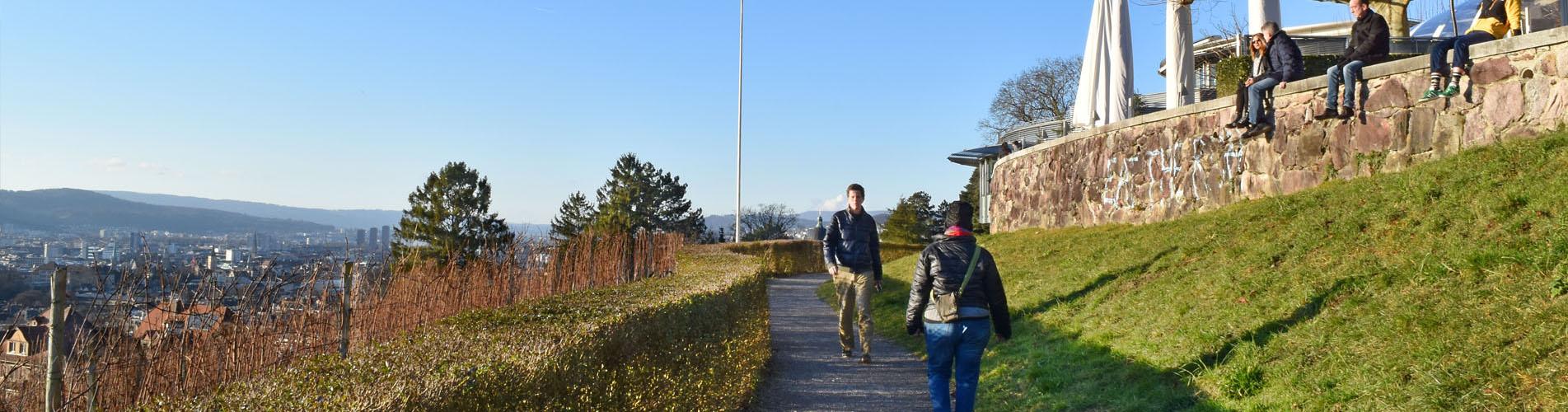 Wanderungen rund um den Zürichsee