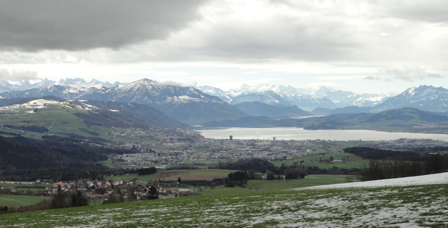 Wanderung auf der Albiskette: Albispass – Albishorn – Schweikhof – Sihlbrugg